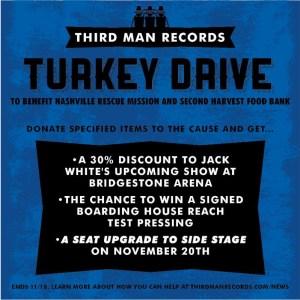 Jack White Turkey Drive