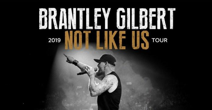 Brantley Gilbert Not Like Us Tour