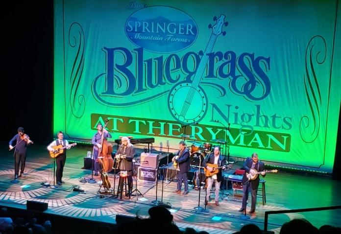 Ricky Skaggs bluegrass Ryman