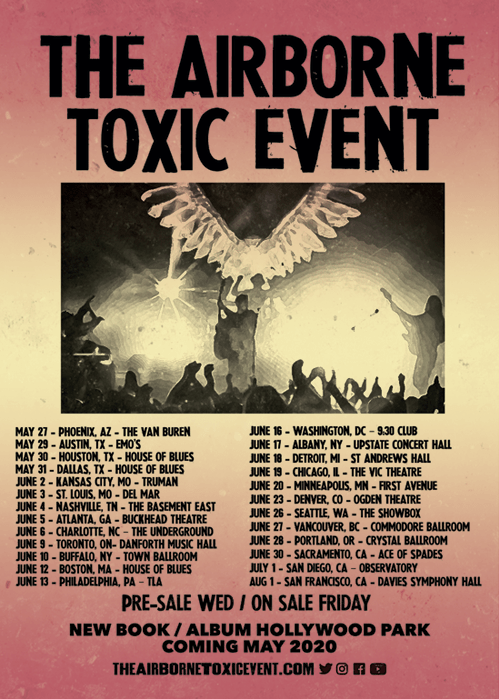 Airborne Toxic Event Basement East