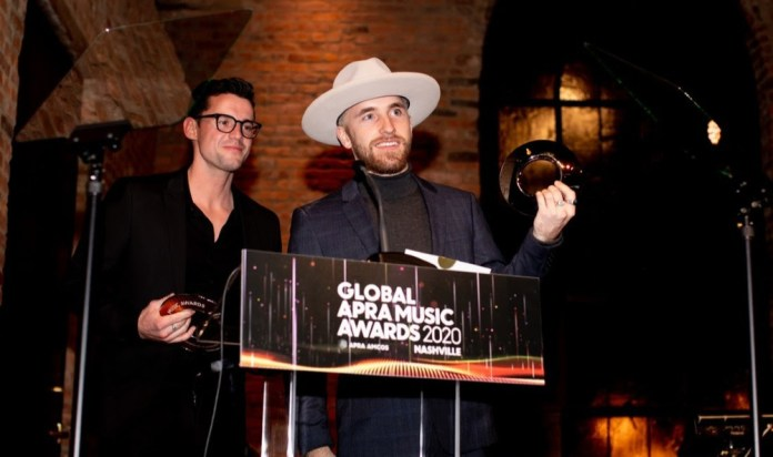 Global APRA Music Awards Nashville 2020