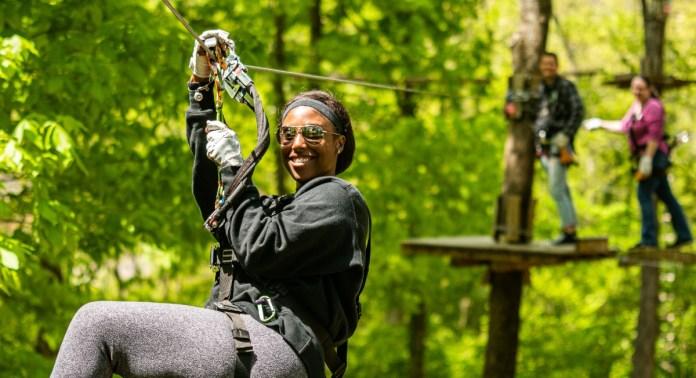 Adventure Park Nashville Fall 2021