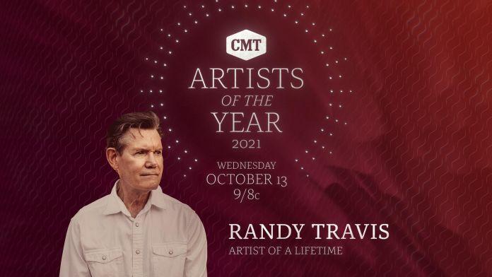 CMT Randy Travis Artist Lifetime