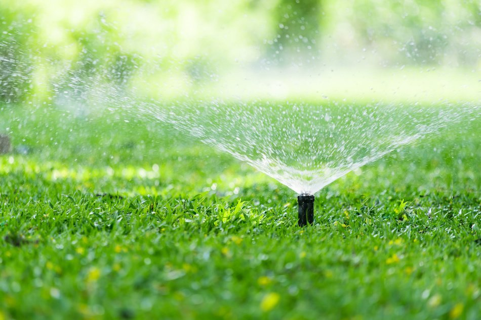 Watering With Sprinklers