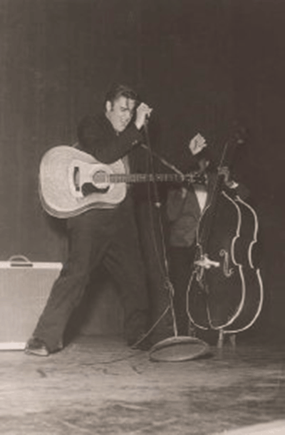 Elvis at the Ryman in 1954