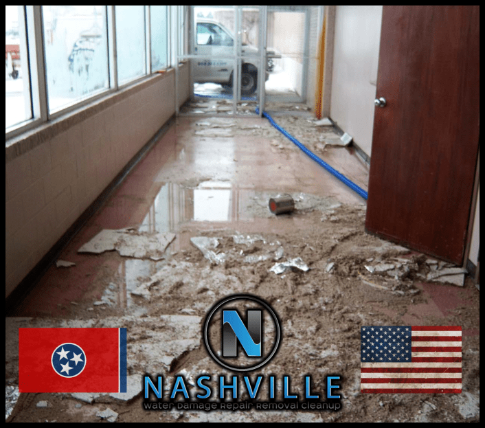 Nashville Water Damage Repair Removal Cleanup Commercial Restoration 53
