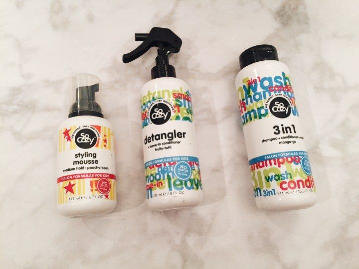kid friendly hair products