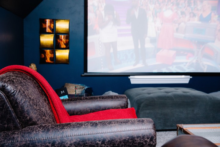 THEATER ROOM IDEAS WITH ASHLEY FURNITURE by popular Nashville style blogger Nashville Wifestyles