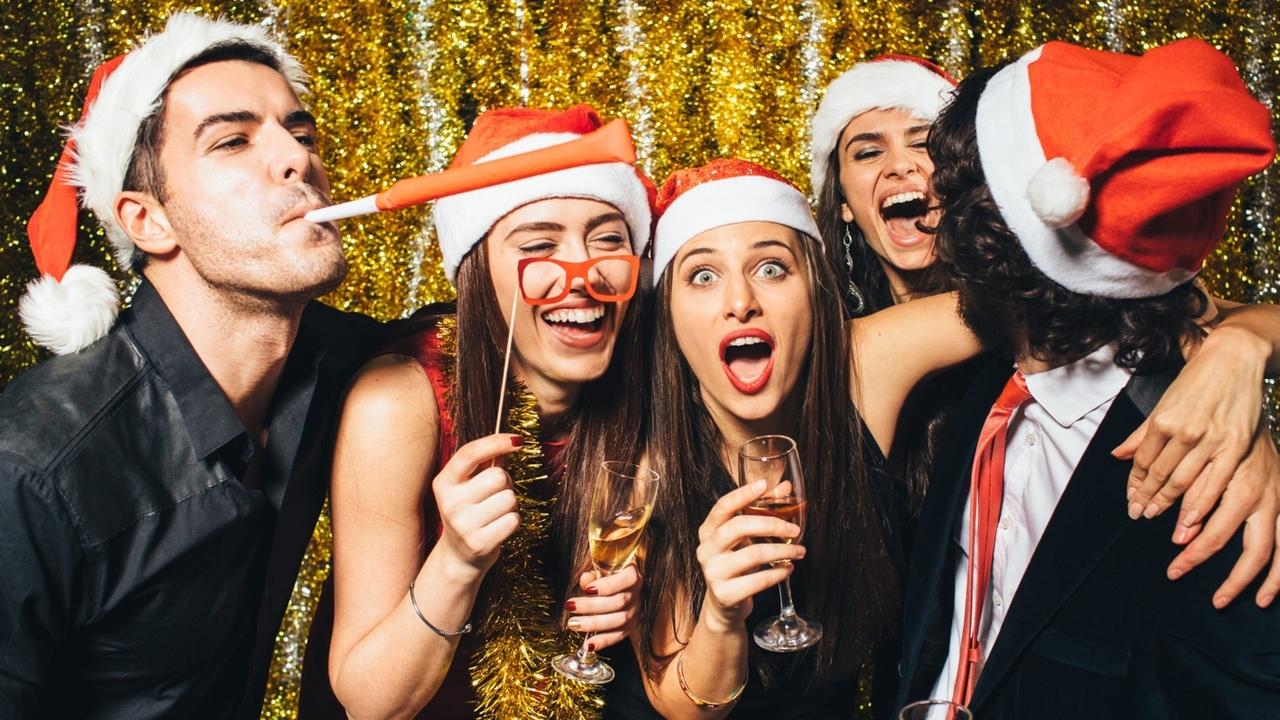 Картинки друзья и новый год