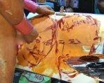 Отвратительное искусство: Кровь, сперма и слезы.
