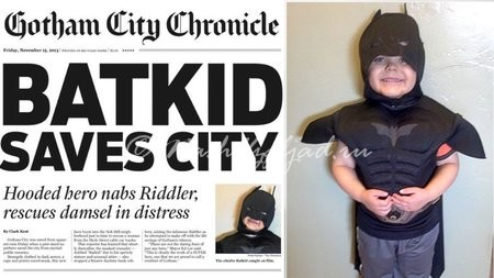 San Francisco Chronicle выпустила газету под названием Gotham City Chronicle