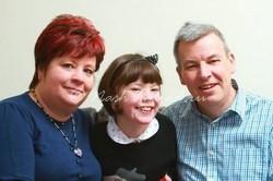 Бэтан Эдвардс с родителями