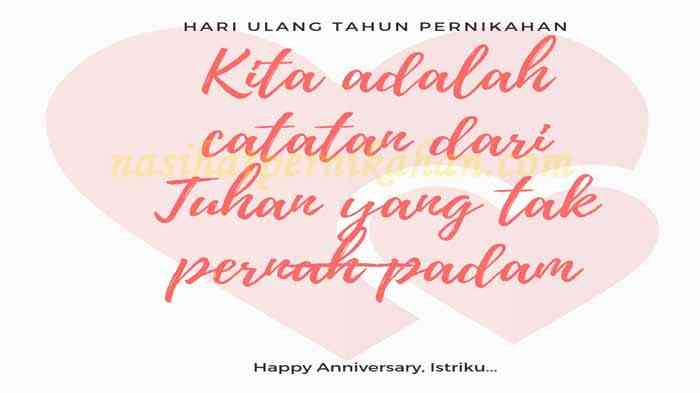 Happy Anniversary Pernikahan Islami Kata Kata Ulang Tahun Pernikahan
