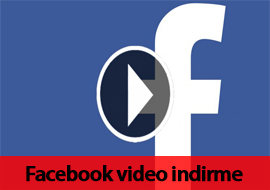 facebook video indirme