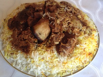 Meat Biriyani