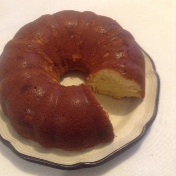 Ginger Pound Cake