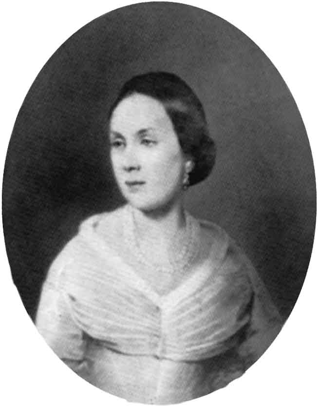 Е.М.Хомякова. Портрет работы неизвестного художника. 1830-е годы