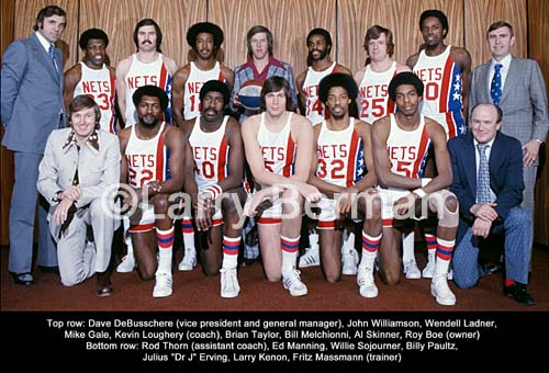 Image result for New York Nets ABA