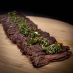 Inside skirt steak met chimichurri