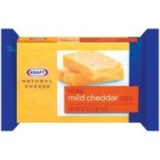 Kraft Natural Cheese Cheddar Mild Chunk Cheese