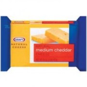 Kraft Natural Cheese Cheddar Medium Chunk Cheese, 16 oz