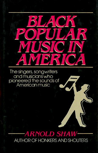 book cover for Black Popular Music in America