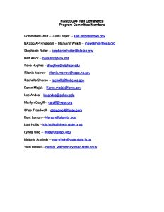 2007 Fall Conference Committee Members pdf 1 232x300 - 2007-Fall-Conference-Committee-Members