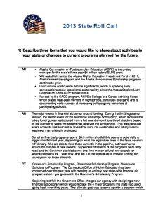 2013 State Roll Call pdf 1 - 2013-State-Roll-Call-pdf-1