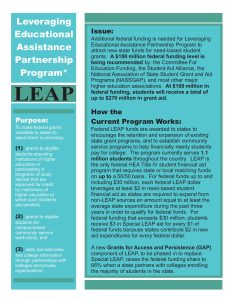 LEAP Fact Sheet 2008 Color Nov 08 pdf 1 - LEAP-Fact-Sheet-2008-Color-Nov-08-pdf-1
