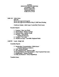NASSGAP Exec Agenda Oct 2007  2  pdf 1 - NASSGAP-Exec-Agenda-Oct-2007-_2_-pdf-1