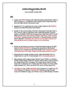 NASSGAP Historical Tidbits 10 10 06 pdf 1 - NASSGAP_Historical_Tidbits_10_10_06-pdf-1