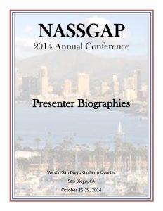 NASSGAP Bios 2014 pdf 232x300 - NASSGAP_Bios_2014
