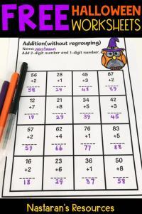 Halloween Worksheets Free