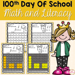 100th day of school activities are  great worksheets for 1st grade ,2nd grade , and 3rd grade . Use these worksheets for morning work for celebration 100th day of school in your classroom. Fun for students and print and go for teachers.#math#1stgrade#100th