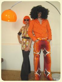 Der 70erJahre Partyausstatter Jungle NastasjaDesign
