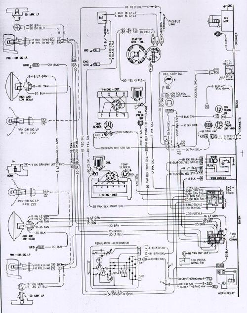 small resolution of wiring diagram for 1973 camaro z28 wiring diagram schemacamaro wiring u0026 electrical information wiring diagram
