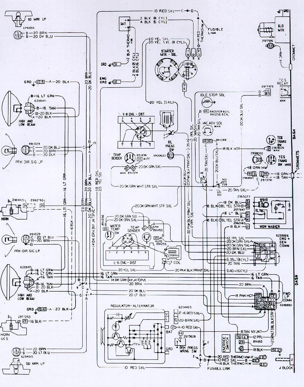 hight resolution of 71 firebird wiring diagram