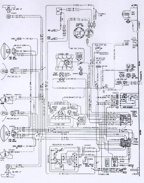 small resolution of 71 firebird wiring diagram
