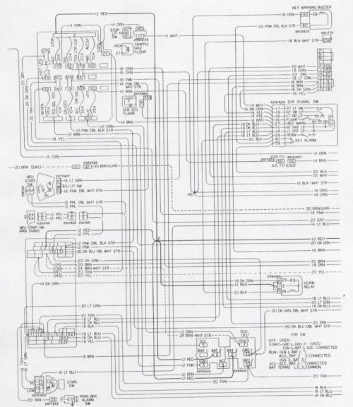 small resolution of camaro wiring electrical information rh nastyz28 com 1983 camaro z28 1984 chevy camaro z28 wiring diagram