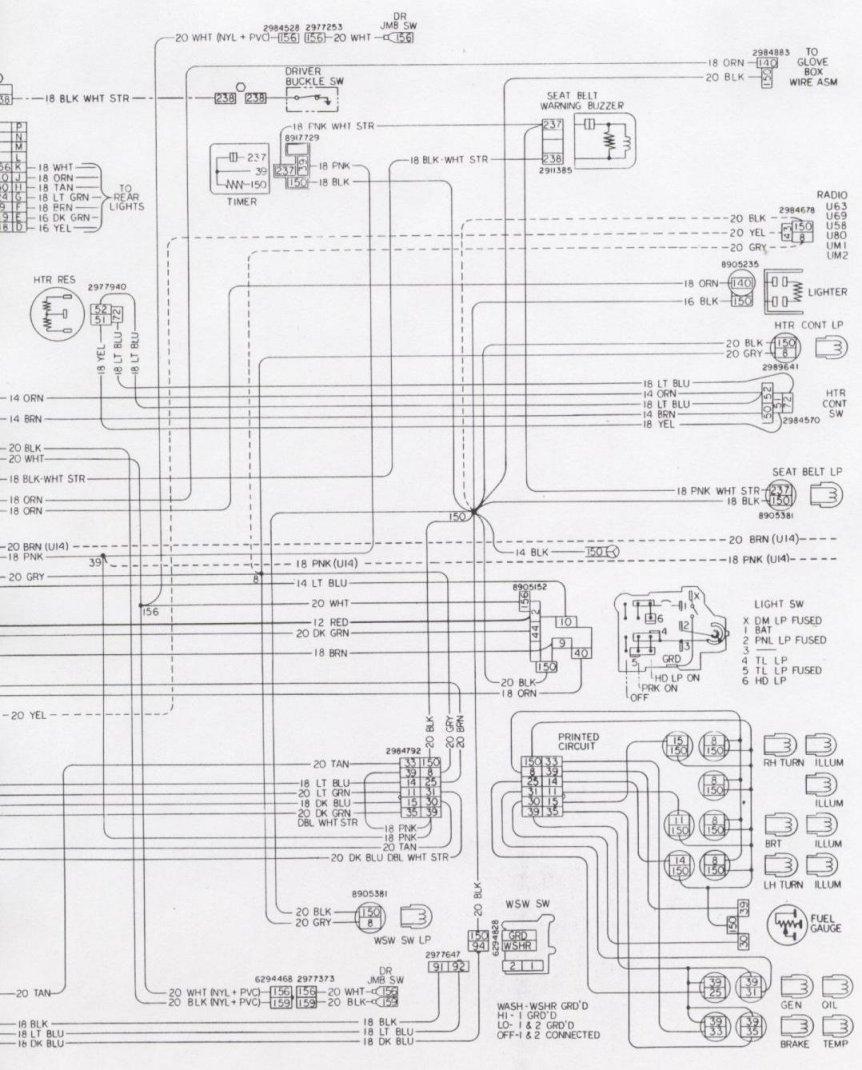hight resolution of engine fwd light 1976