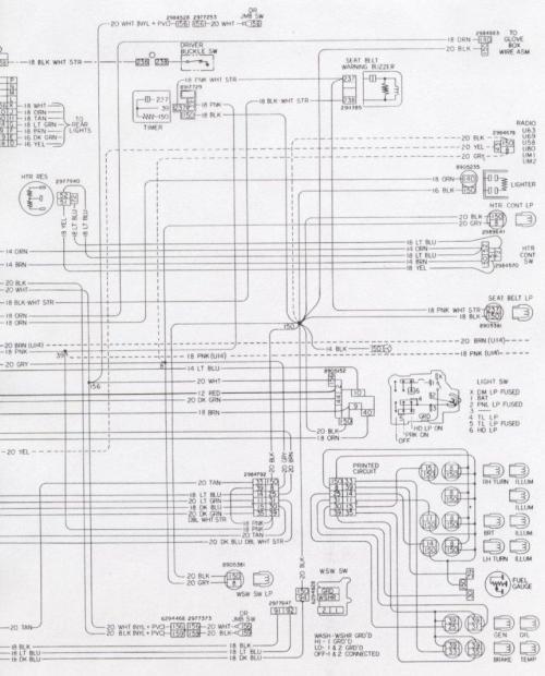 small resolution of engine fwd light 1976