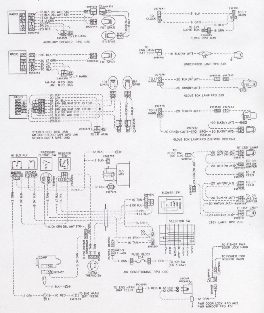 1977 C10 Alternator Wiring Diagram