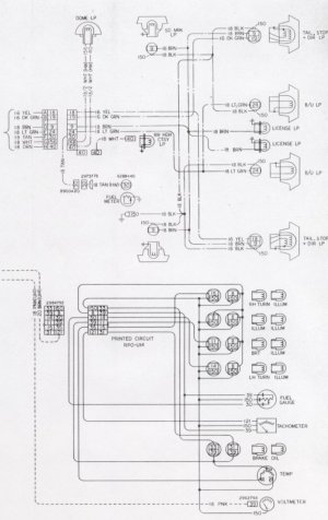 1976 Camaro Tail Light Wiring Schematic