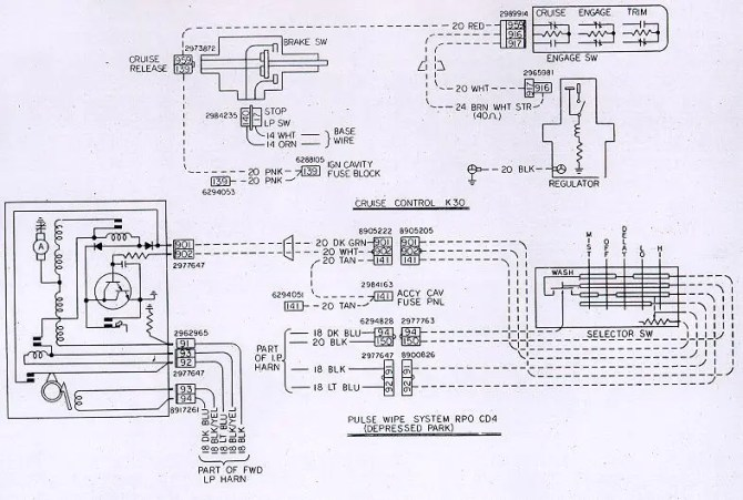 1972 trans am wiring diagram  vw radio antenna wiring  vww