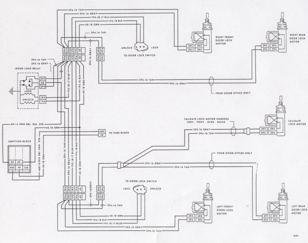 1977 chevy blazer wiring diagrams