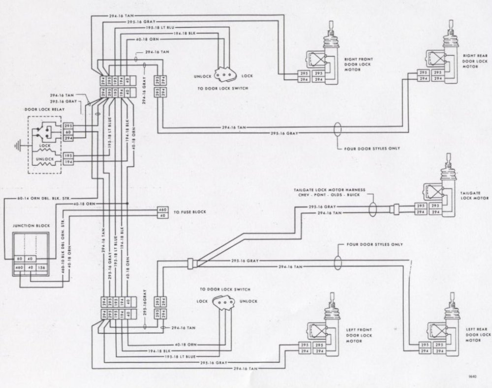 medium resolution of 64 corvette tail light wiring diagram