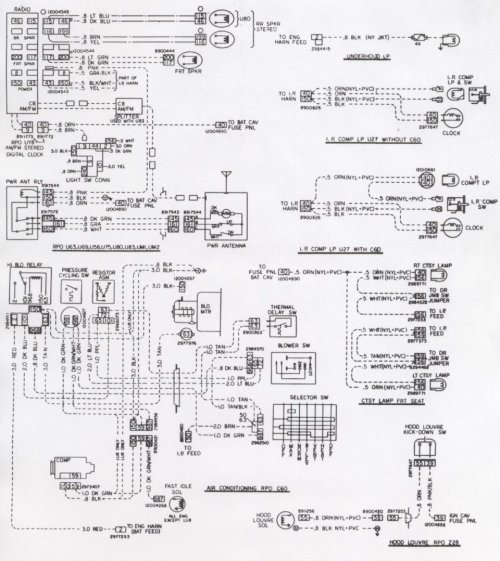 small resolution of 1978 camaro wiring diagram heater core wiring diagrams scematic 1978 280z fuel pump wiring 1978 camaro