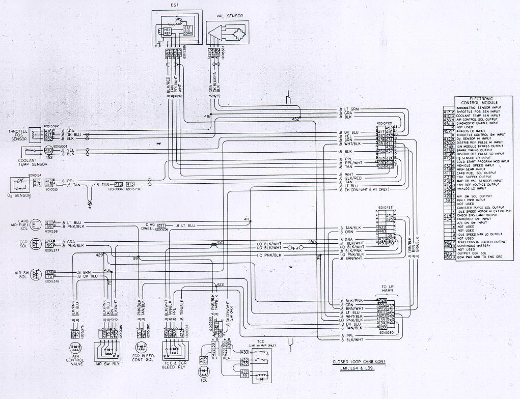 Nastyz28 Com Camaro Wire 81w Ecm
