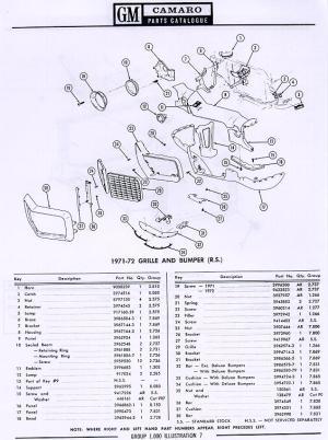 1970 Camaro Split Bumper Brackets   NastyZ28