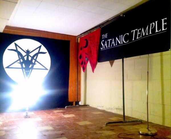 templul satanic